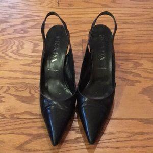 Women's Prada Slip on Heels